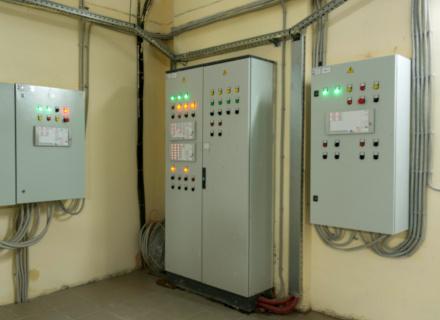 Шкафы автоматизации спринклерного пожаротушения