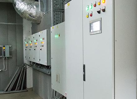 Щиты автоматизации проиводымной вентиляции