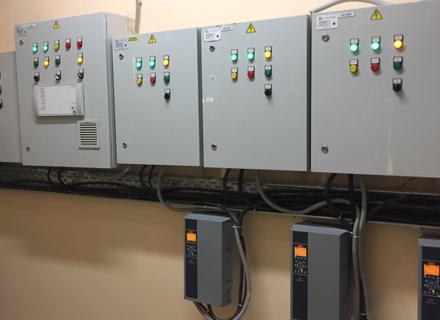 Автоматика противодымной вентиляции