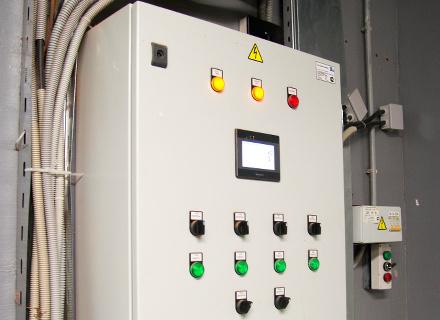Шкафы автоматизации систем общеобменной вентиляции