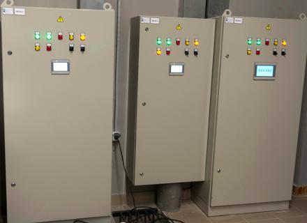 Шкафы автоматизации противодымной вентиляции