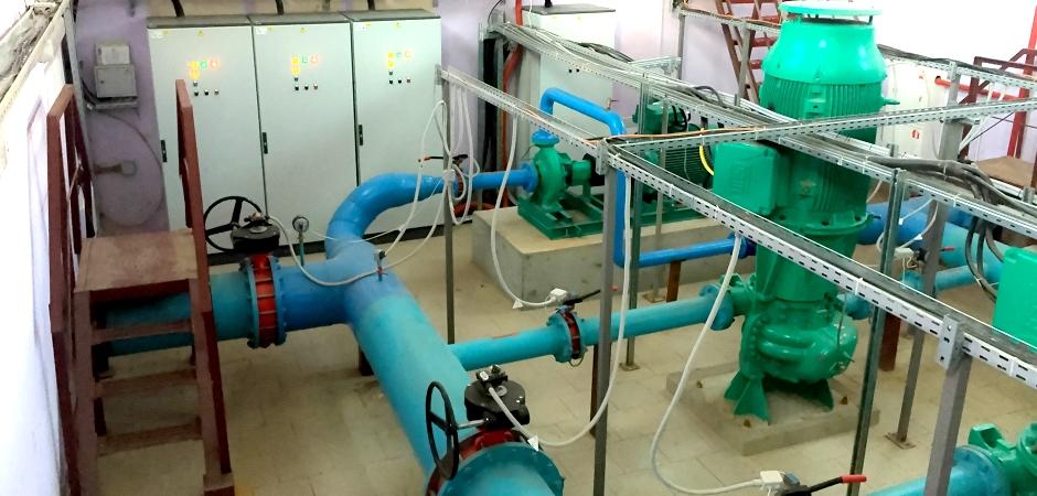 Создание промышленной площадки 'Зеленодольск' в РТ. Противопожарный водопровод В2. Реконструкция водопроводной насосной станции